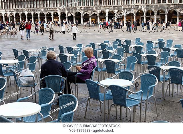 San Marco Square, Venice, Vaneto, Italy