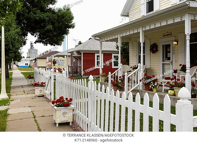 The Little German House at Stassburg, North Dakota, USA
