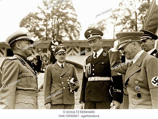 Kehlsteinhaus, Count Galeazzo Ciano, Italian, Foreign Minister, Adolf Hitler, Ribbentrop, Berghof, interpreter, Paul Schmidt, Berchtesgaden, Germany, 1939