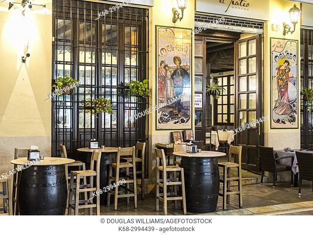 Tavern, Malaga, Spain