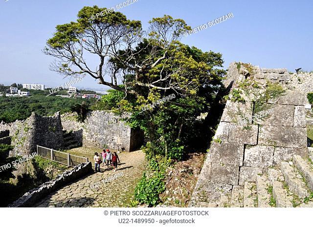 Okinawa (Japan): the Nakagusuku Castle