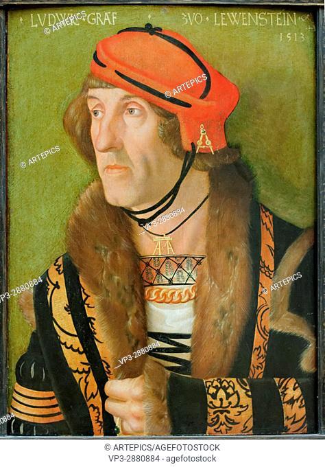 Hans Baldung Grien - Ludwig Graf zu Löwenstein - 1513 - XVI th Century - German School - Gemäldegalerie - Berlin