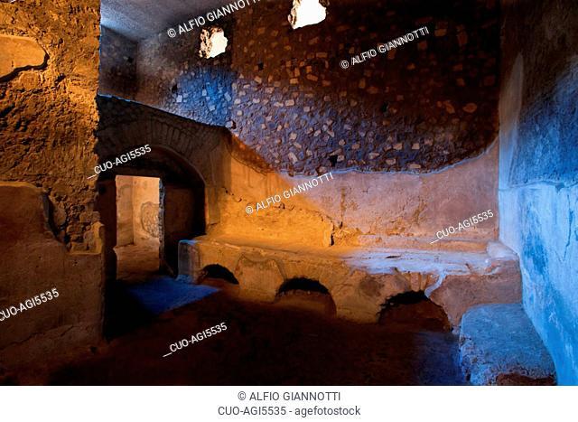 The Villa Poppaea, Villa di Poppea, UNESCO World Heritage Site, The Oplontis Project.org, Oplonti, Torre Annunziata, Campania, Italy, Europe
