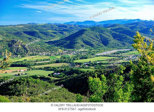 Vallee de l'Asse, Alpes de Haute Provence, 04, PACA,