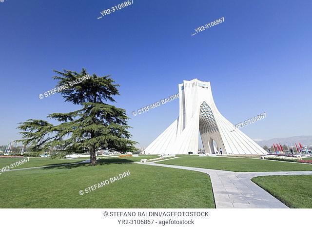 Azadi tower ,Borj-e Azadi, Tehran, Iran