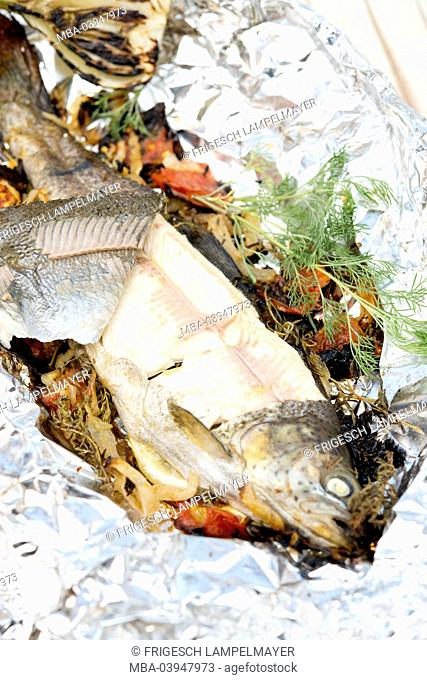 Trout, grilled