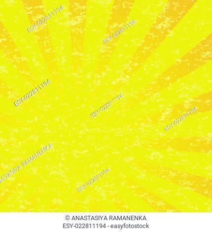 Abstract Sun Burst Pattern