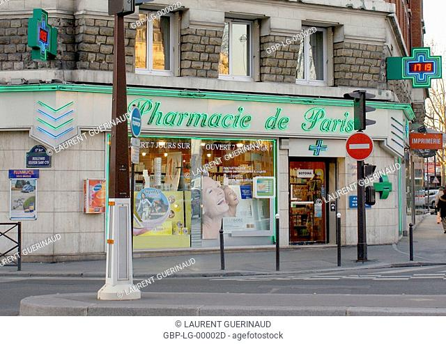 Place de la Porte de Champerret, 17° arrondissement, Ile-de-France, Paris, France