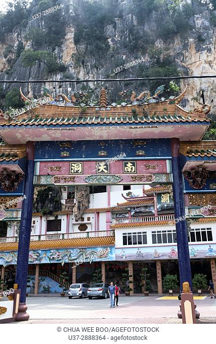 Entrance of Perak cave temple, Ipoh, Malaysia