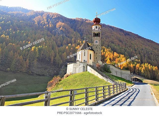 Pilgrimage, Madonna di Senales, Schnalstal, South Tyrol, Italy