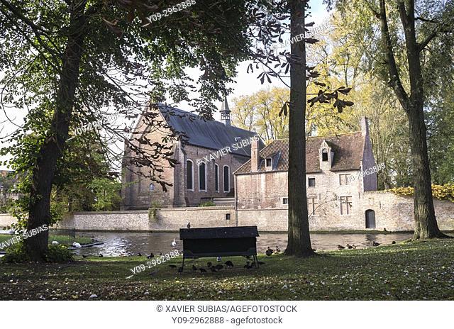 Cathedral of St. Elisabeth in Beguinage, Bruges, Belgium