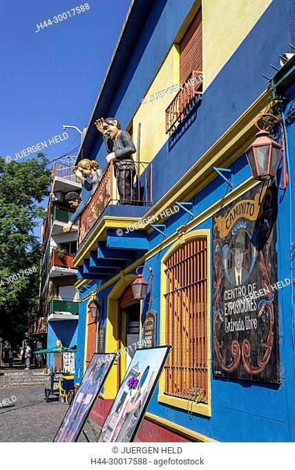Argentina, Buenos Aires, Caminito, La Boca