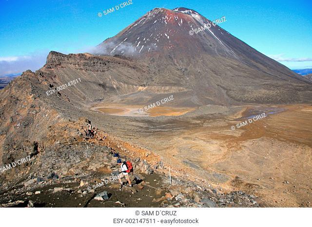 Volcano - Tongariro National Park, New Zealand