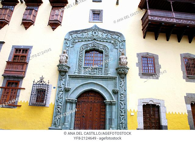 Columbus house Las Palmas de Gran Canaria island Spain