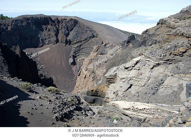 Hoyo Negro volcano, Cumbre Vieja Natural Park. La Palma Island, Santa Cruz de Tenerife province, Canary Islands, Spain
