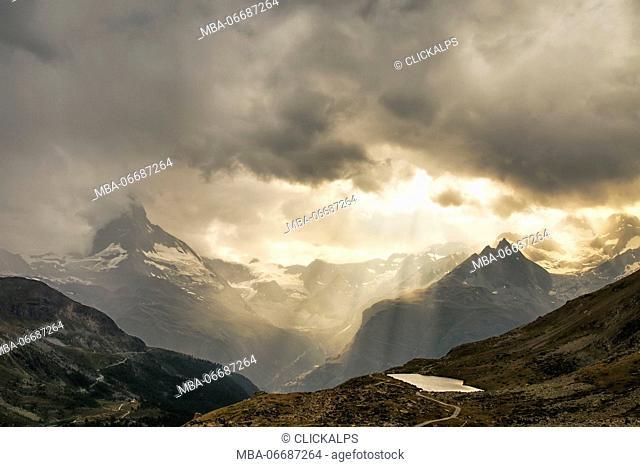 The Matterhorn, Zermatt, Switzerland, Europe