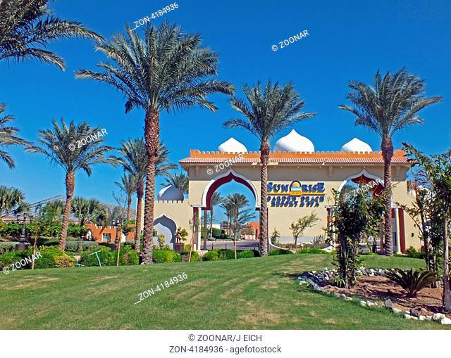 Ägypten, Hurghada, Hotelanlage