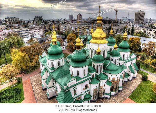 st.sophia cathedral in kiev.ukraine