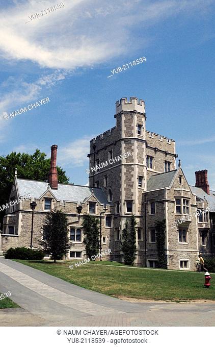 Campus, Princeton University, NJ, New, Jersey, USA