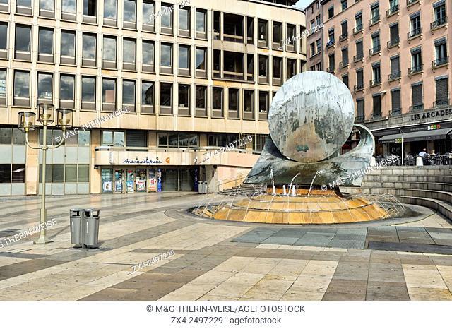 Louis Pradel Square, Lyon, Rhone, France