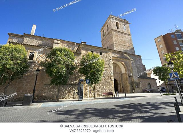Nuestra Señora de la Asumcion Church, Tembleque, Toledo, Castilla la Mancha, Spain
