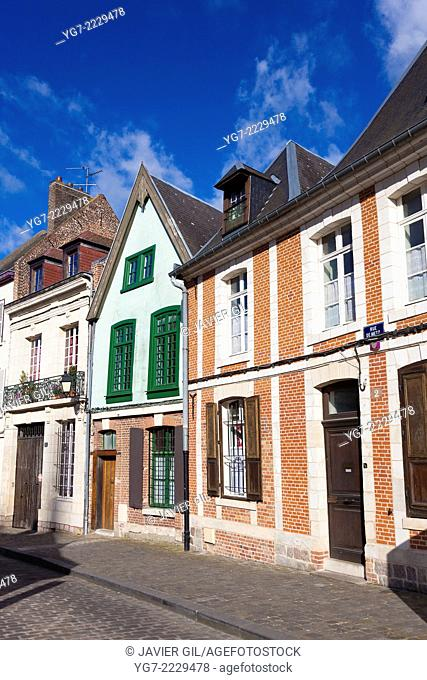 Architecture of Amiens, Somme, Picardy, France