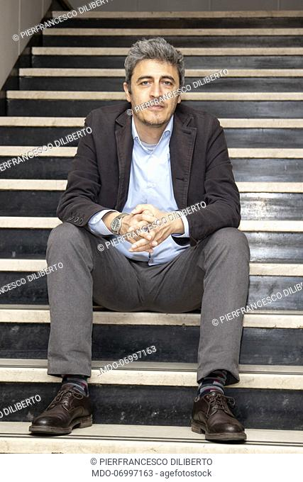 Pierfrancesco Diliberto, aka Pif at Palazzo Anteo. Milan (Italy), March 8th, 2019