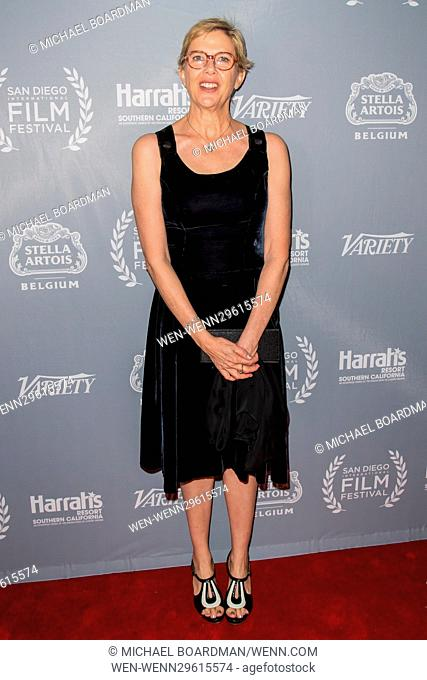 San Diego International Film Festival - Variety's Night of the Stars Tribute - Arrivals Featuring: Annette Bening Where: San Diego , California