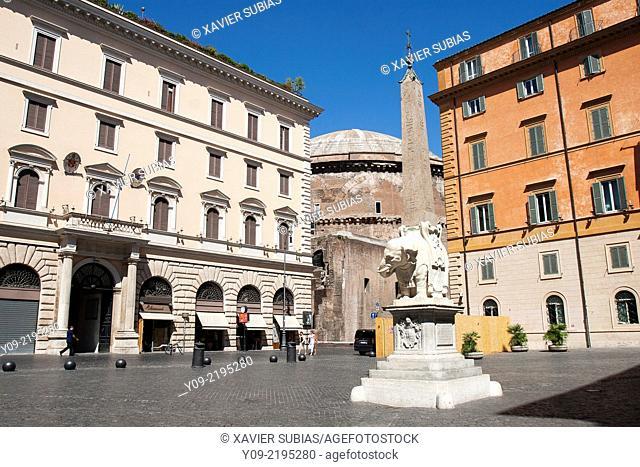 Piazza della Minerva, Rome, Lazio, Italy