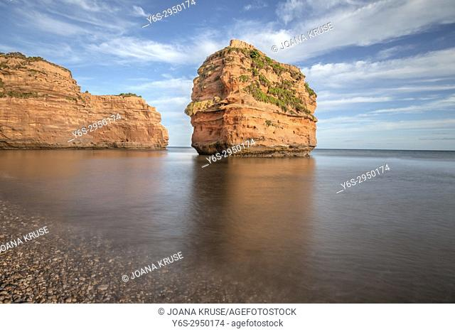 Ladram Bay, Devon, England, United Kingdom
