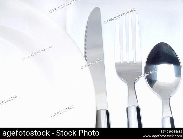 cutlery set on a table