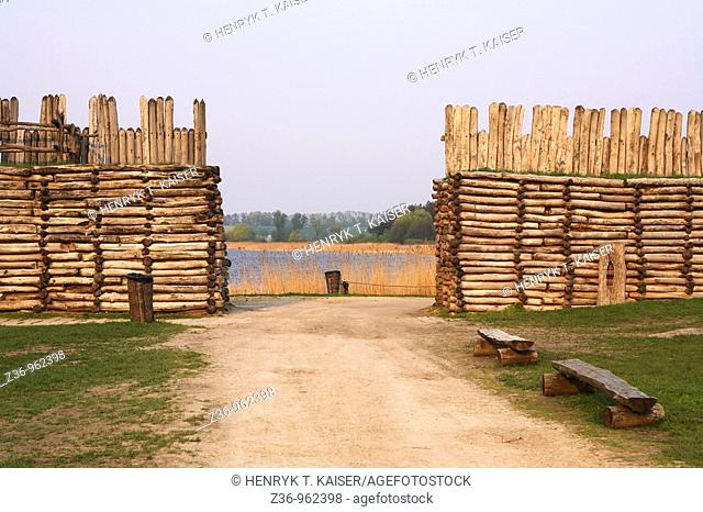 Biskupin, first prehistoric site in Poland