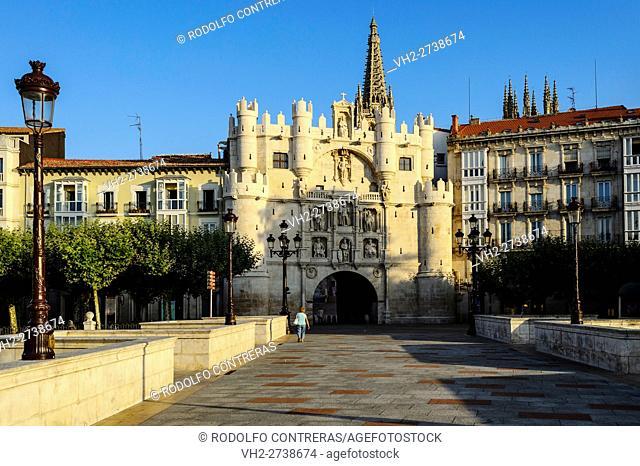 St Mary's Arch, Burgos