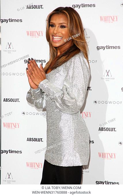 'Whitney: Can I Be Me' screening at The May Fair Hotel  Featuring: Melody Thornton Where: London, United Kingdom When: 13 Jun 2017 Credit: Lia Toby/WENN