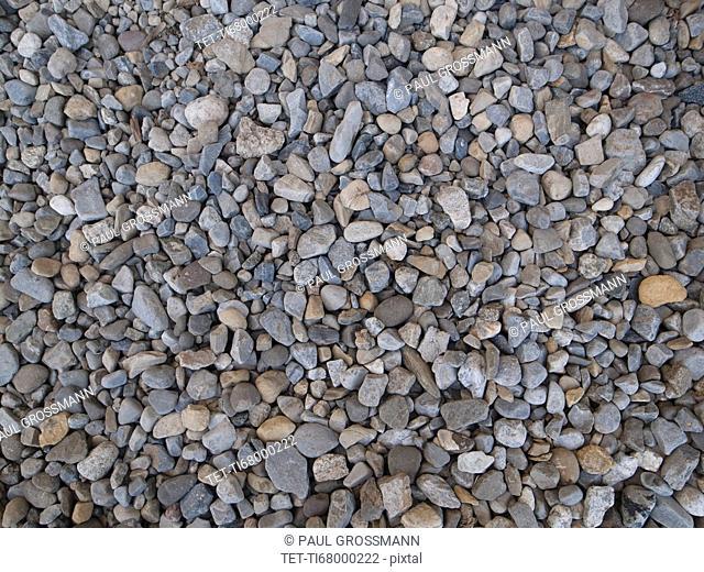 Grey pebbles