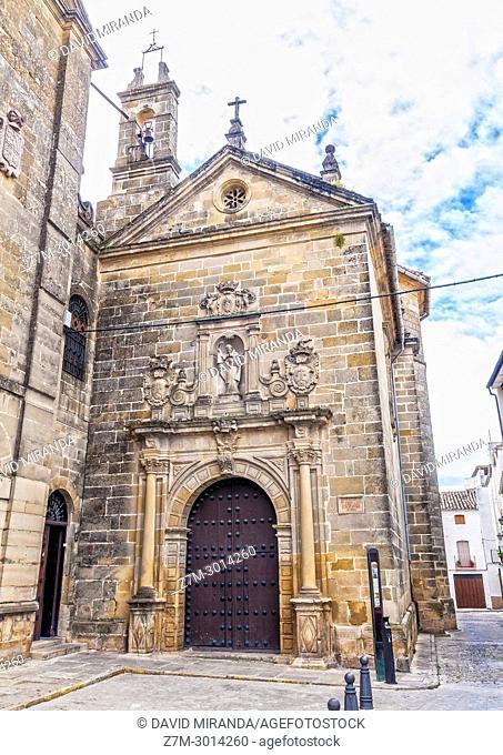 Oratorio en el que murió San Juan de la Cruz. Úbeda. Jaén. Andalusia. Spain