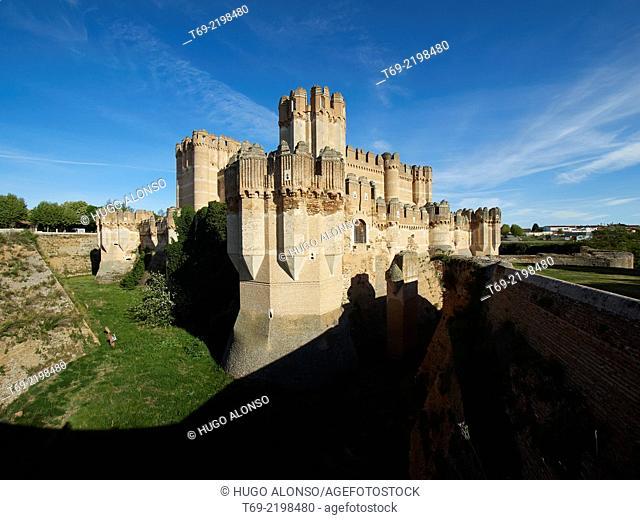 Coca Castle. Segovia. Spain