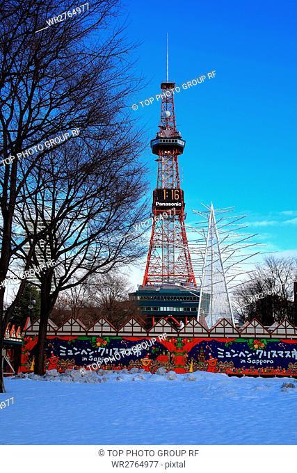 Sapporo in Winter