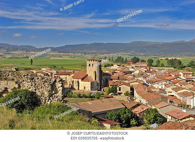 Santa Gadea del Cid in Burgos province, Castilla-Leon, Spain