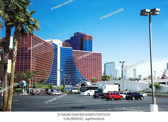 Beautiful Las Vegas hotels, The Entertainment Capital of the World, Nevada, USA