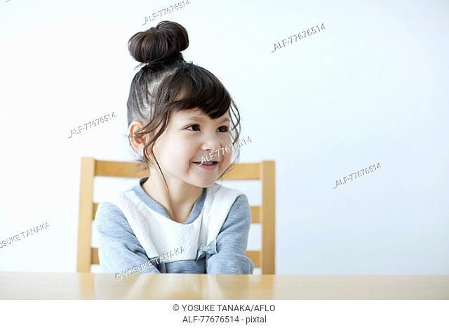 Cute Japanese kid