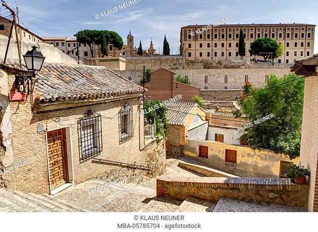 View on the seminary, Seminario mayor San Ildefonso de Toledo, Toledo, province Toledo, Castilla-La Mancha, Spain, Europe