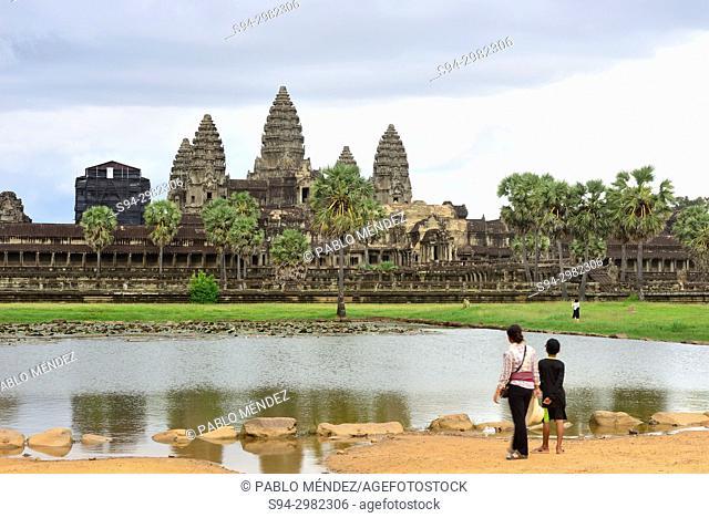 Angkor Wat temple, Angkor area, Siem Reap, Cambodia