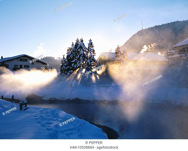 10538884, Switzerland, Europe, mountains, Celerina, Switzerland, Europe, Alps, Engadine, Oberengadin, Switzerland, Europe, riv