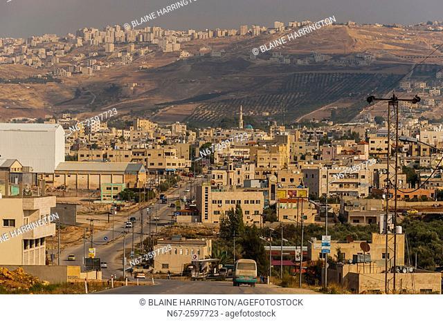 On road between Amman and Jerash, Jordan