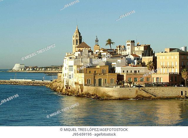 Sitges. Barcelona province, Spain