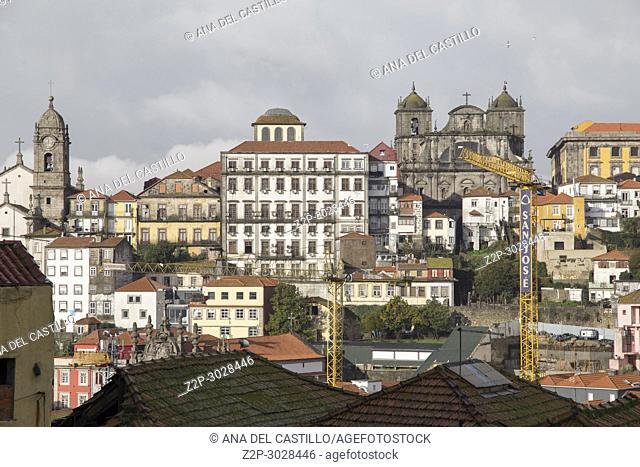 Cityscape in Porto, Portugal