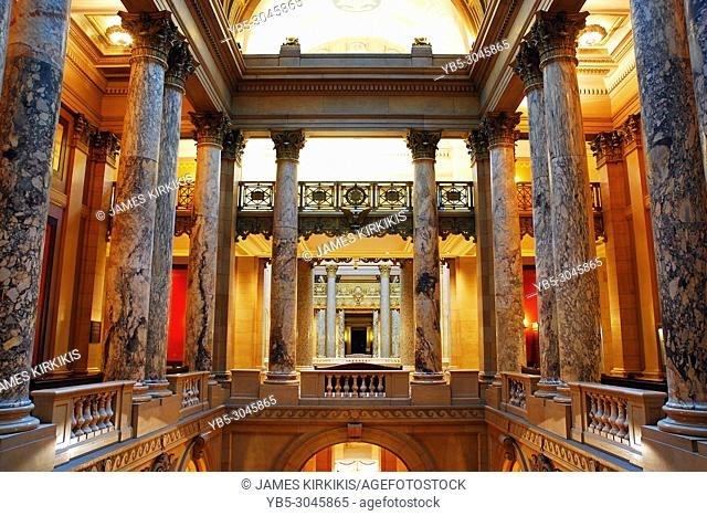 Interior of the Minnesota State Capitol building