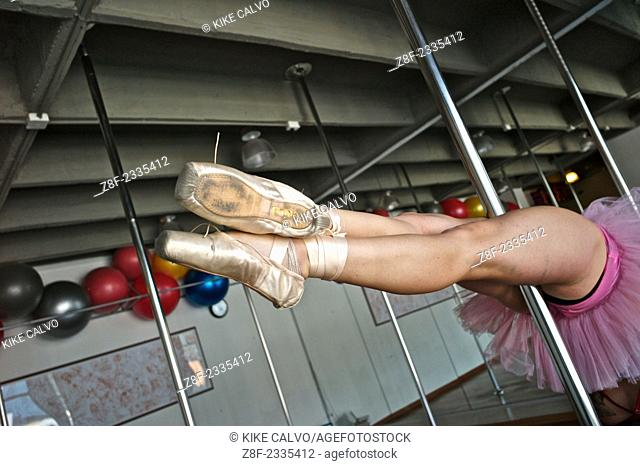Pole dancing, a form of performing art, combining dance and gymnastics its gaining many enthusiasts in gyms or dedicated dance studios in Latin America