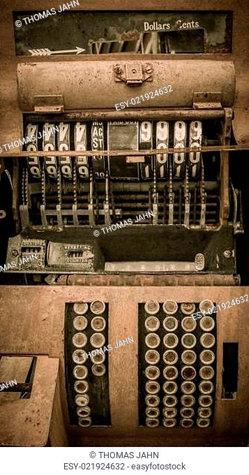 Cash register Jerome Arizona Ghost Town